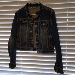 Maurice's crop denim jacket